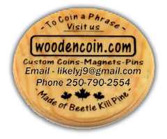 About Wooden Coin